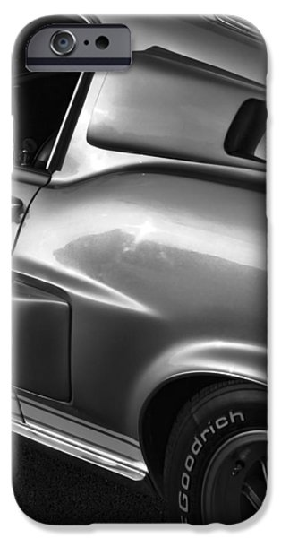 Autographed Digital Art iPhone Cases - 1968 Ford Mustang Shelby GT 350 iPhone Case by Gordon Dean II