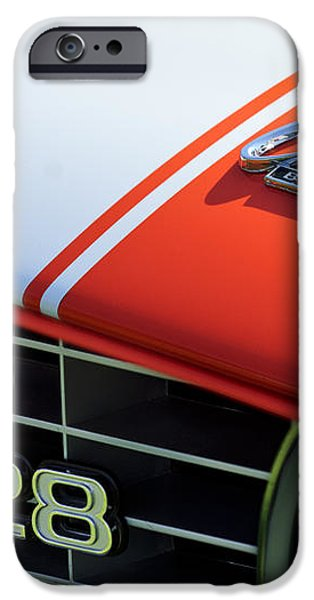 1969 Chevrolet Camaro Z-28 Emblem iPhone Case by Jill Reger