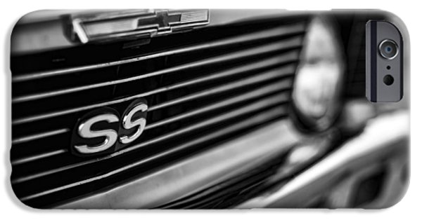 Death Proof iPhone Cases - 1969 Chevy Nova SS  iPhone Case by Gordon Dean II