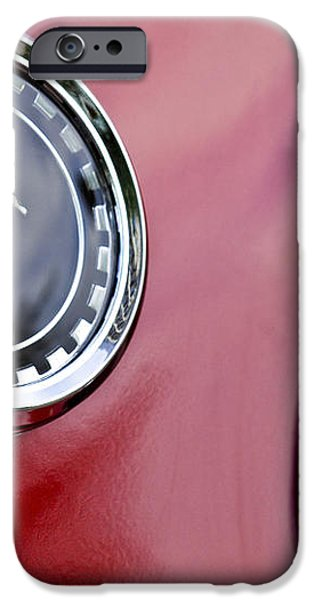 1969 Ford Mustang Mach 1 iPhone Case by Jill Reger