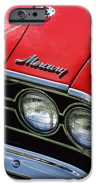 Stripes iPhone Cases - 1969 Mercury Cyclone iPhone Case by Gordon Dean II