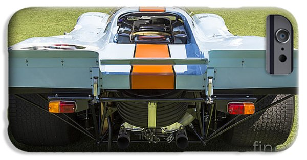 Porsche 917k iPhone Cases - 1969 Porsche 917 iPhone Case by Dennis Hedberg