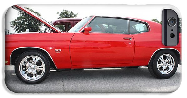 Automotive iPhone Cases - 1970 Chevy SS Chevelle iPhone Case by John Telfer