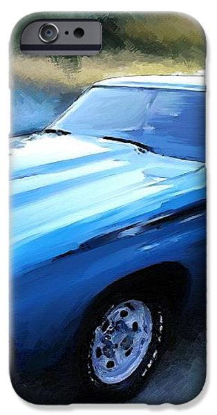 1971 Chevy Chevelle iPhone Case by Robert Smith