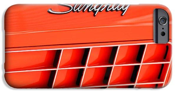 1972 iPhone Cases - 1972 Chevrolet Corvette Stingray Emblem 3 iPhone Case by Jill Reger
