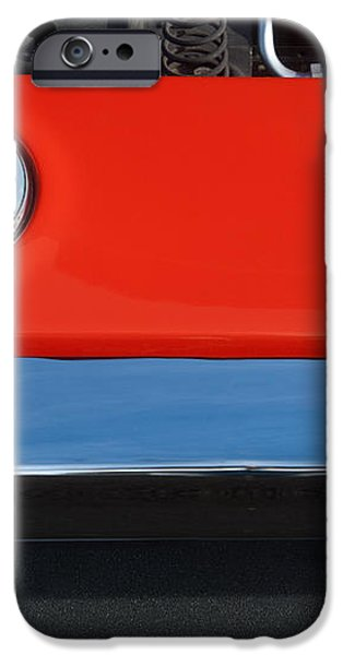 1972 Plymouth Road Runner Hood Emblem iPhone Case by Jill Reger