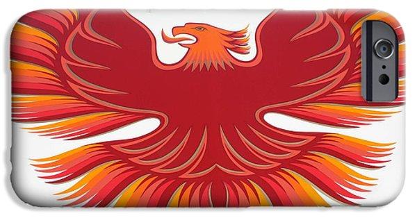 Automotive iPhone Cases - 1979 Pontiac Firebird Emblem iPhone Case by John Telfer