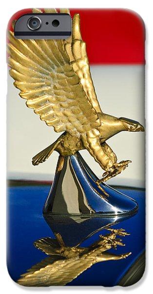 1986 Zimmer Golden Spirit Hood Ornament iPhone Case by Jill Reger