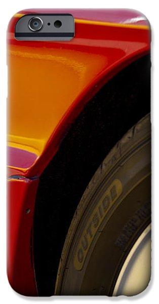 1988 Alfa Romeo Spider Quad Emblem iPhone Case by Jill Reger