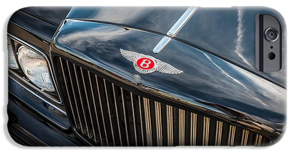1990 iPhone Cases - 1990 Bentley Turbo R   iPhone Case by Rich Franco