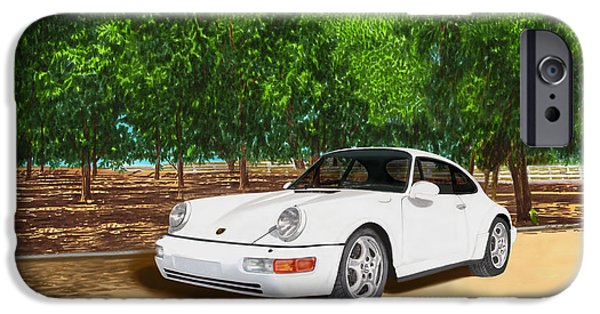 Most Sold iPhone Cases - 1994 Porsche 964 Wide Body iPhone Case by Jack Pumphrey