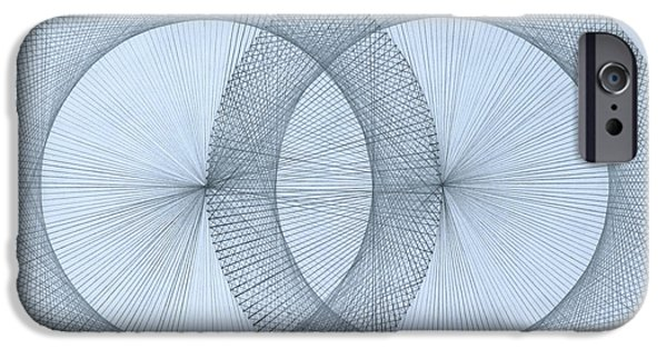 Calculus iPhone Cases -   Magnetism iPhone Case by Jason Padgett