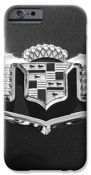 1941 Cadillac Emblem iPhone Case by Jill Reger