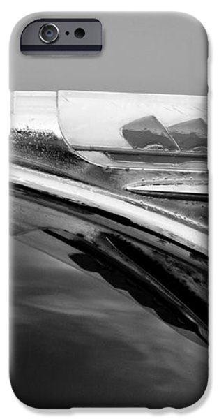 1947 Plymouth Hood Ornament iPhone Case by Jill Reger