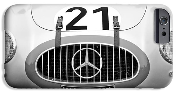 1952 iPhone Cases - 1952 Mercedes-Benz W194 Coupe iPhone Case by Jill Reger