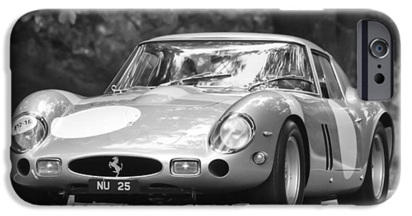 Ferrari Gto iPhone Cases - 1963 Ferrari 250 Gto Scaglietti Berlinetta iPhone Case by Jill Reger