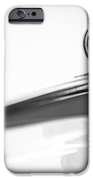 1963 Ford Falcon Futura Convertible  Hood Ornament iPhone Case by Jill Reger