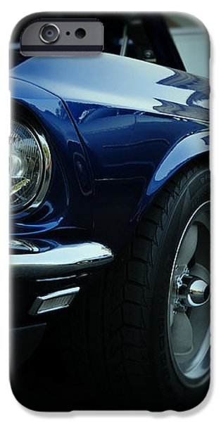 1969 Ford Mustang Mach 1 Fastback iPhone Case by Paul Ward