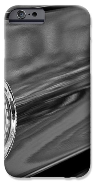 1969 Ford Mustang Taillights iPhone Case by Jill Reger