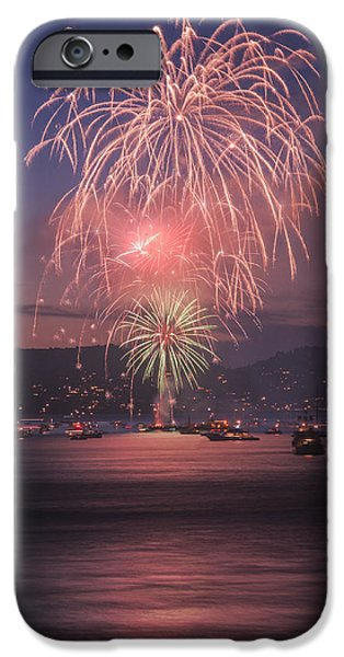 2014 4th of July Firework Celebration.  iPhone Case by Jason  Choy
