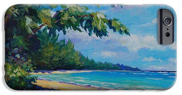 Beach iPhone Cases - 7 Mile Beach iPhone Case by John Clark