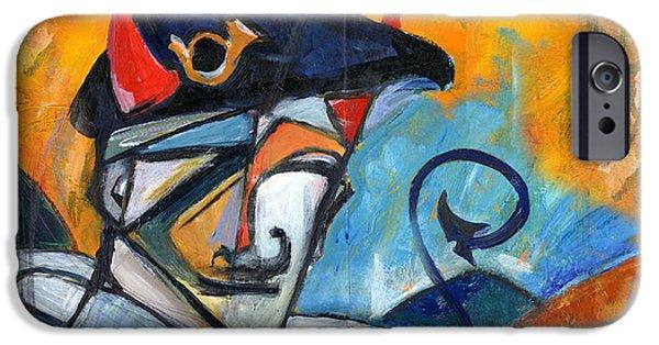 Wwi Paintings iPhone Cases - A la Gloire iPhone Case by Revere La Noue
