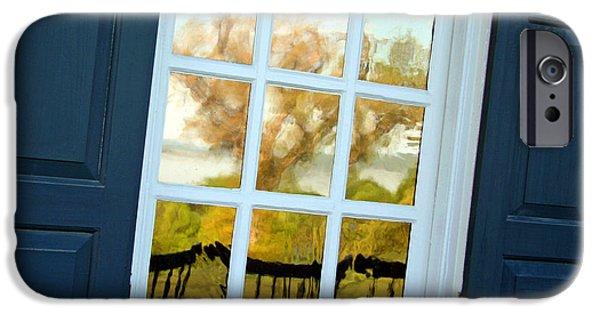 Cora Wandel iPhone Cases - A Mount Vernon Window iPhone Case by Cora Wandel