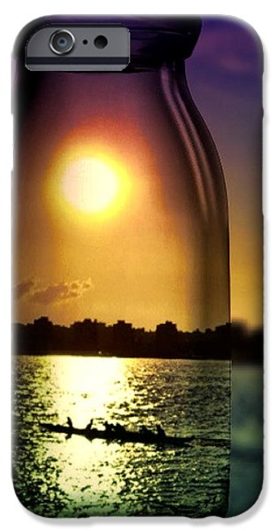 Hudson River iPhone Cases - A View Upon the Hudson iPhone Case by Natasha Marco