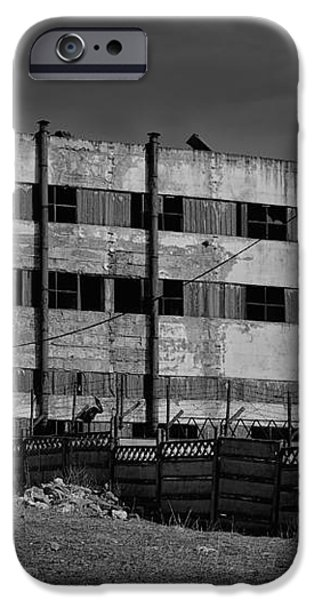 Abandoned factory at Vadu iPhone Case by Gabriela Insuratelu