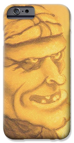Epic Pastels iPhone Cases - Accused iPhone Case by Isaiah Diaz