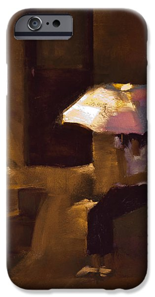 House Pastels iPhone Cases - Adobe Sun iPhone Case by David Patterson