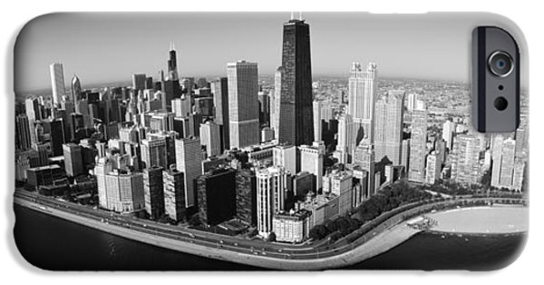 Lake Shore Drive iPhone Cases - Aerial View Of Buildings In A City iPhone Case by Panoramic Images