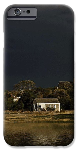 Storm Clouds Cape Cod iPhone Cases - After the Storm iPhone Case by Keith Woodbury