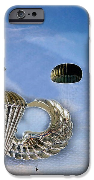 Airborne iPhone Case by JC Findley