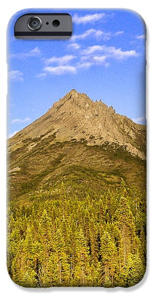 Alaska Mountains iPhone Case by Chad Dutson