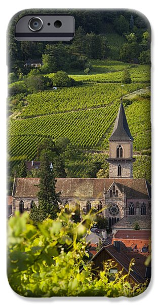 Alsace Church iPhone Case by Brian Jannsen