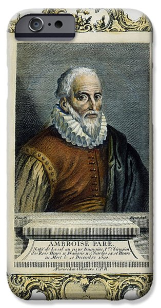 AMBROISE PARE (1517?-1590) iPhone Case by Granger