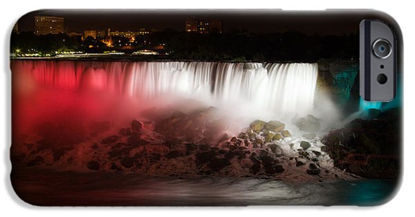 Niagara Falls iPhone Cases - American Falls iPhone Case by Adam Romanowicz