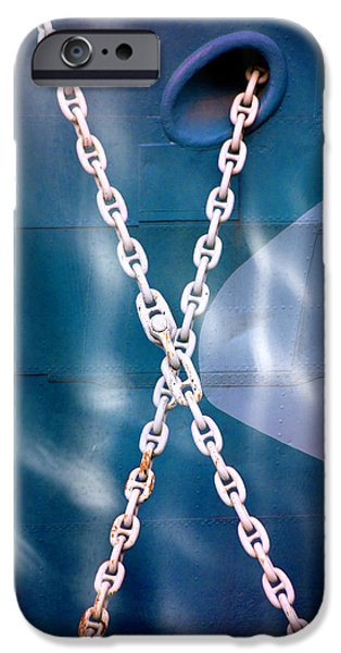 Steadfast iPhone Cases - Anchored iPhone Case by Richard Piper