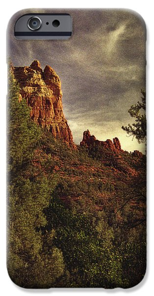 Another View of Snoopy Rock iPhone Case by Robert Albrecht