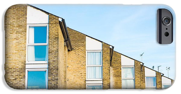 Balcony iPhone Cases - Apartments iPhone Case by Tom Gowanlock