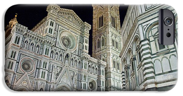 Architectural Feature iPhone Cases - Architectural Detail Of A Cathedral iPhone Case by Panoramic Images