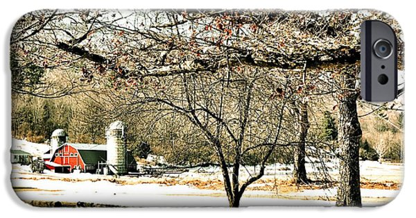 Recently Sold -  - Covered Bridge iPhone Cases - Arlington Farm iPhone Case by JAMART Photography