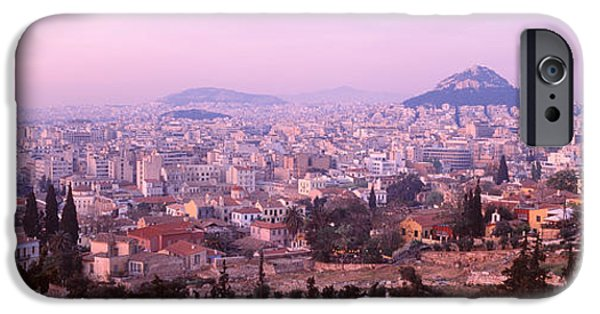 Mountain iPhone Cases - Athens, Greece iPhone Case by Panoramic Images
