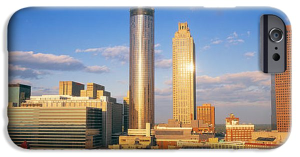 Ga iPhone Cases - Atlanta, Georgia, Usa iPhone Case by Panoramic Images