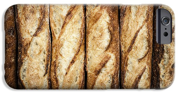 Bread iPhone Cases - Baguettes iPhone Case by Elena Elisseeva