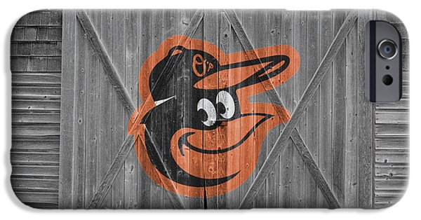 Baseball Field iPhone Cases - Baltimore Orioles iPhone Case by Joe Hamilton