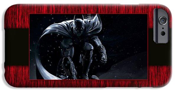 Superhero iPhone Cases - Batman iPhone Case by Marvin Blaine