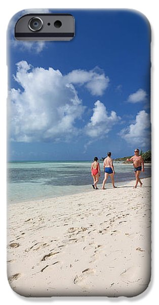 Beach at Coco Cay iPhone Case by Amy Cicconi