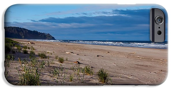 Seacapes iPhone Cases - Beach View iPhone Case by Robert Bales